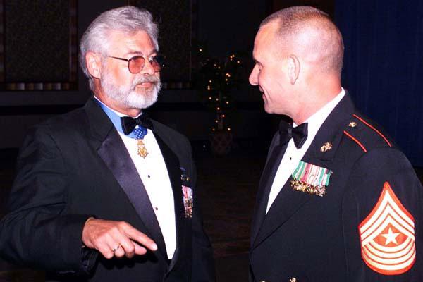 Retired Army Sgt. Maj. John Cavaiani