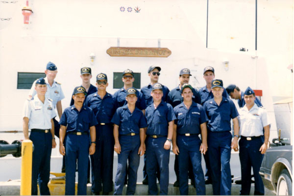 Shipmates on Coast Guard Cutter Baranof 600x400