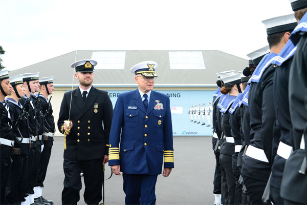 Adm. Bob Papp in New Zealand 600x400
