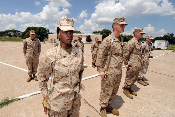 training for Marine Corps Corporals Leadership Course 600x400