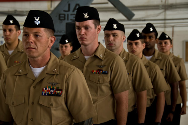 Newly promoted Sailors 600x400