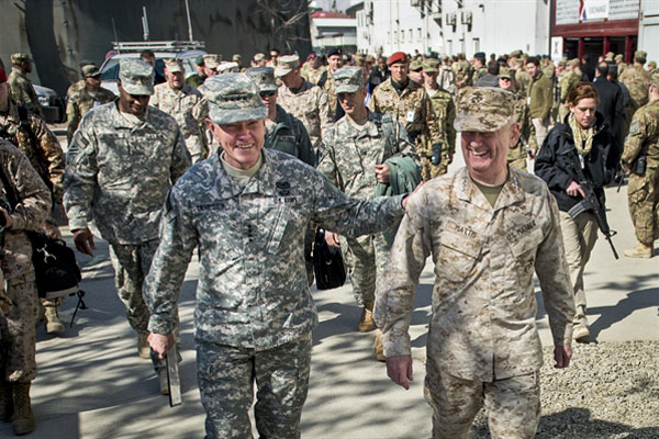 Army Considers Marine Corps Camo For New Uniforms