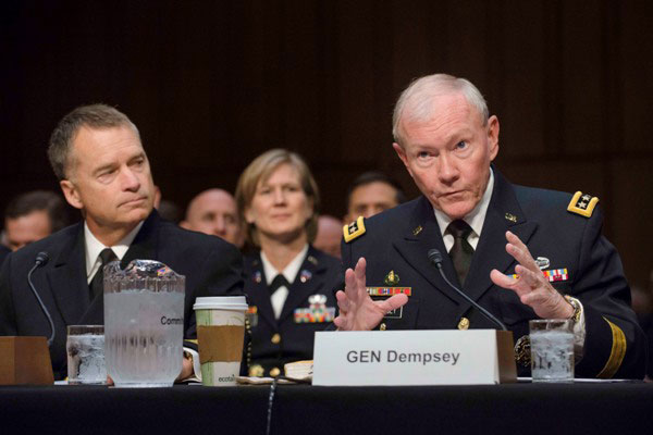 General Dempsey testifies