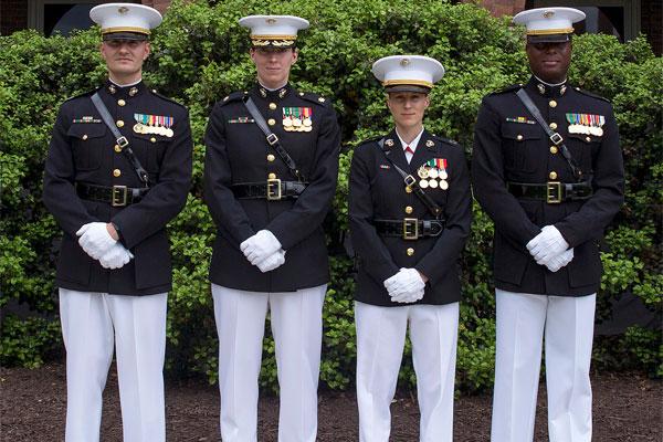 Corps Expands Testing of Female Dress Blue Coat | Military.com