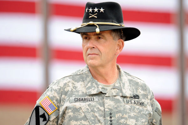 Former Army Vice Chief of Staff Gen. Peter Chiarelli is a potential candidate suggested by analysts to take over as VA Secretary. (U.S. Army photo)