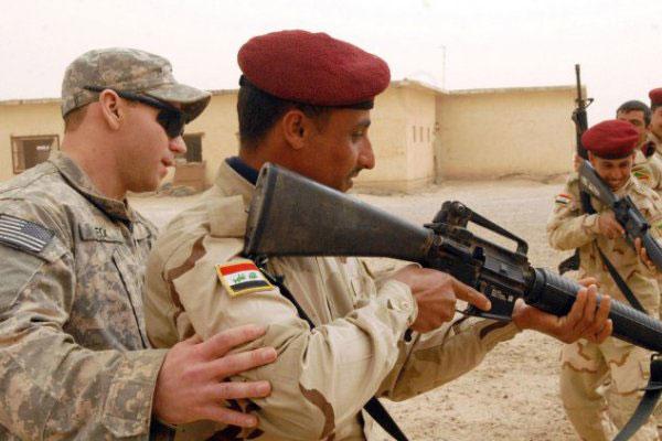 Iraq training