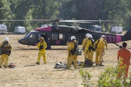 Firefighting crews