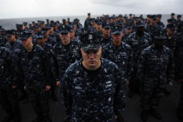 Navy Grows as Air Force and Army Fight off Personnel Cuts ...