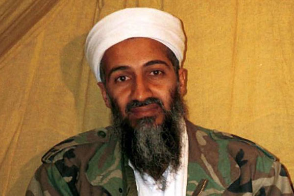 This undated file photo shows al Qaida leader Osama bin Laden in Afghanistan (AP Photo, File)