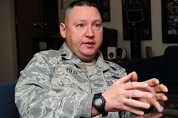 Lt. Col. Scott Foley. Photo by Airman 1st Class Kayla Newman/Air Force