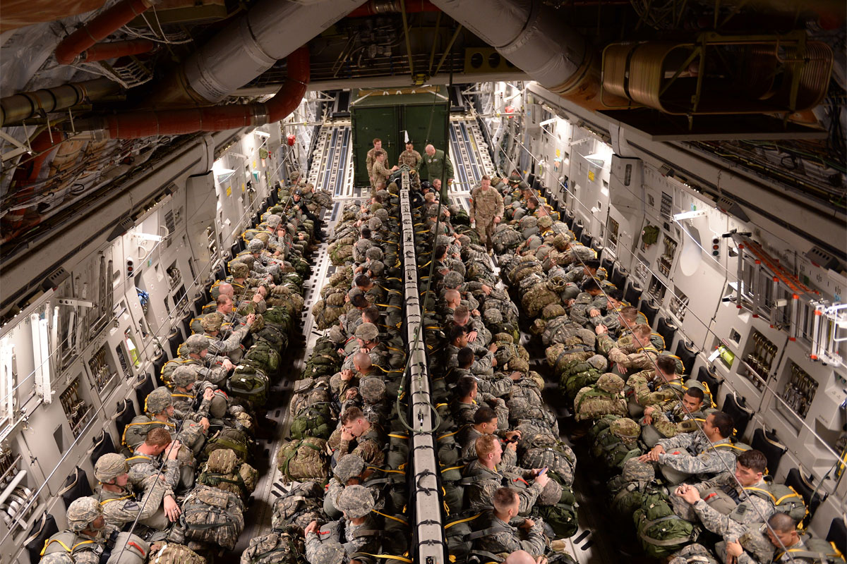 us paratroopers honored for jump into spain