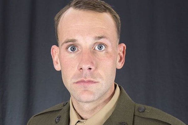 Staff Sgt. Robert T. Van Hook (Photo courtesy The Globe/Marine Corps Base Camp Lejeune)