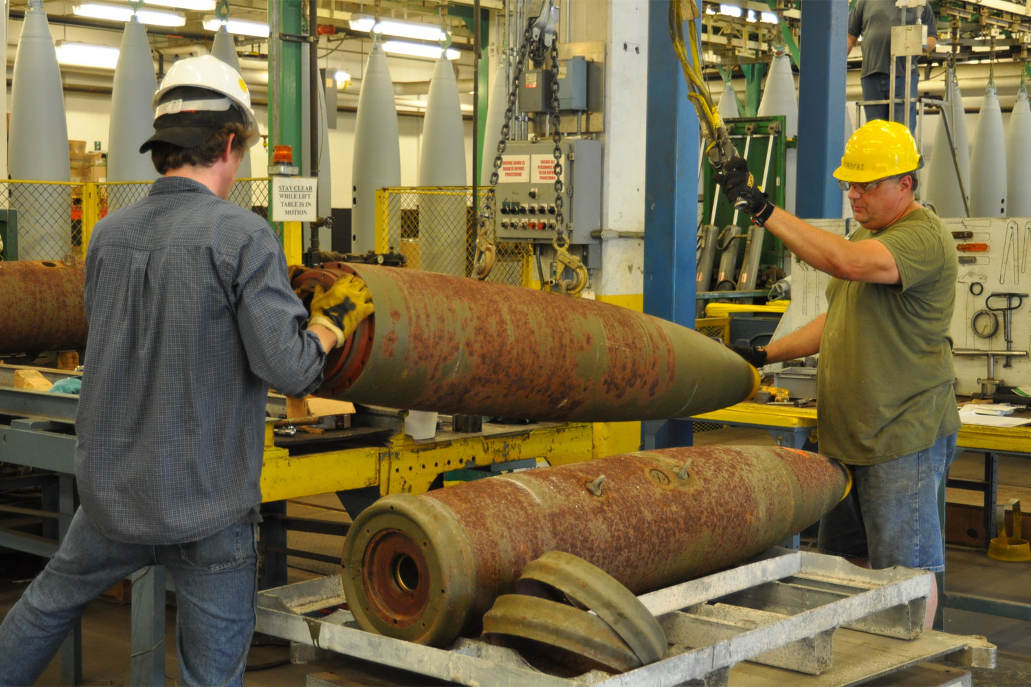 Weapons Disposal a Facet of Army Ammunition Activity's Job