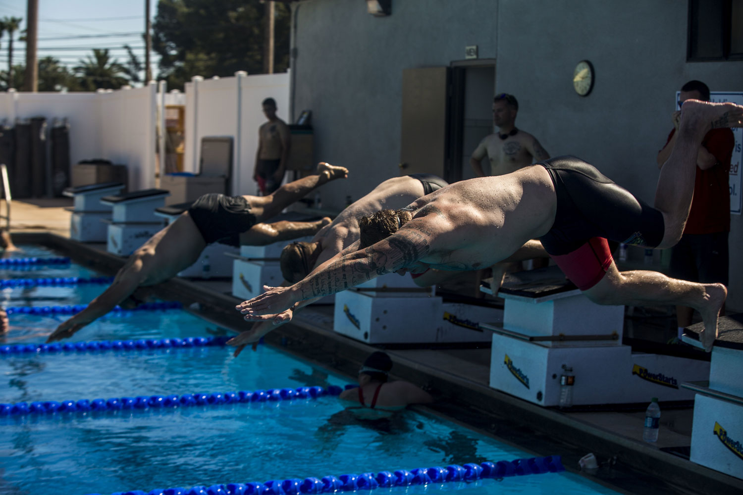 Warriors at Camp Pendleton Push Through Pain for Competition