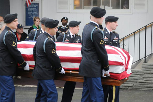 Military funeral 600x400