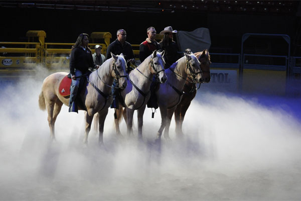 Marine Corps Mounted Color Guard 600x400