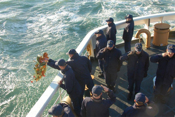 Coast Guard wreath laying ceremony 600x400