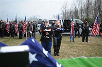 Military funeral 428x285