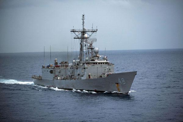Oliver Hazard Perry-class frigate USS Vandegrift (FFG 49)