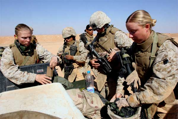 Marine Corps Approves First Two Women for Infantry Positions ...