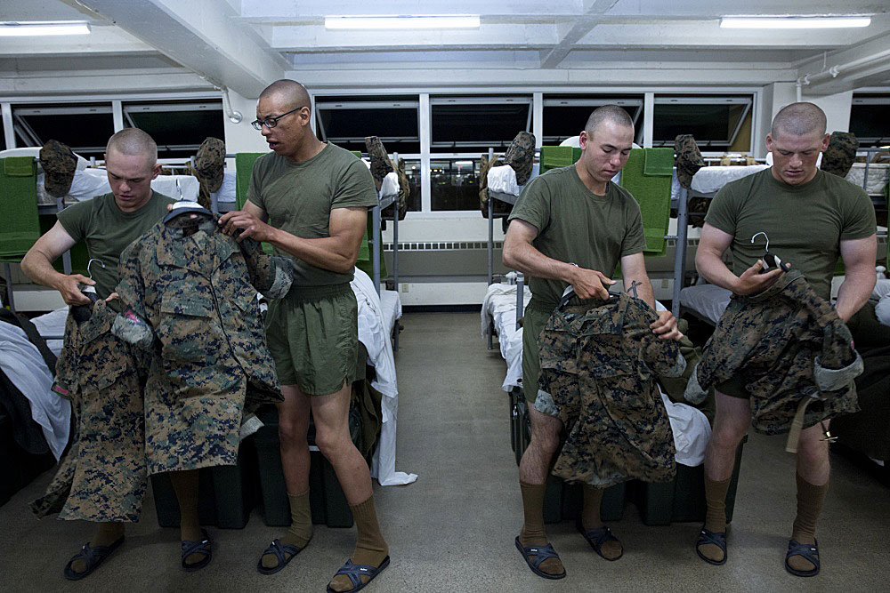 Marine Corps Ditches Desert Camouflage For Seasonal