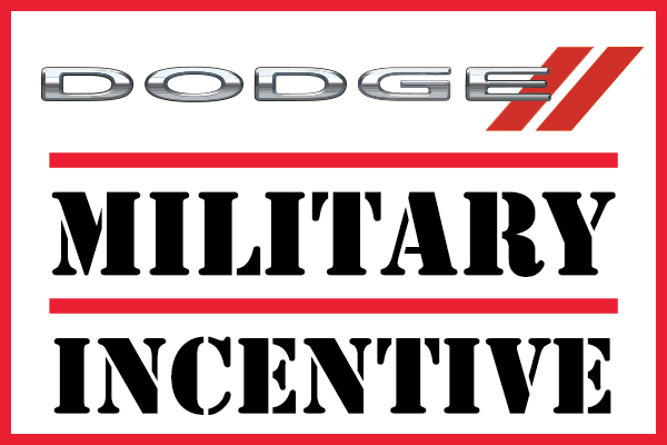 Dodge Military Incentive