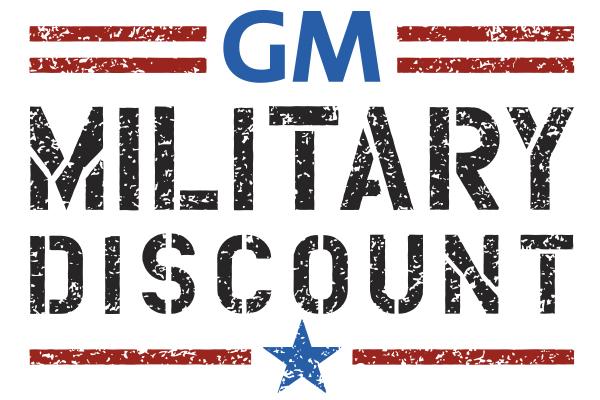 GM Military Discount Logo
