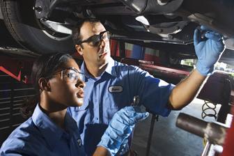 Diesel engine technicians.