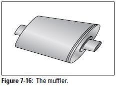 Figure 7-16: The muffler.