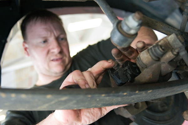 Concentration on auto repair.