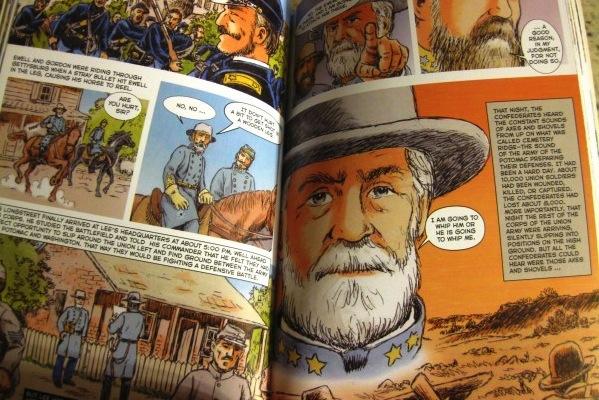 graphic history gettysburg