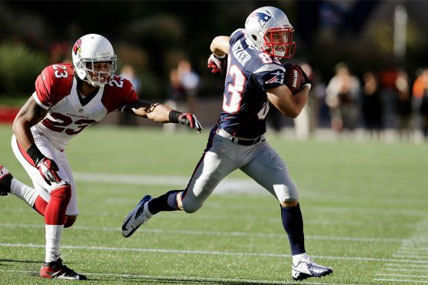 New England Patriots Wes Welker