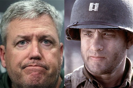 Rex Ryan and Tom Hanks