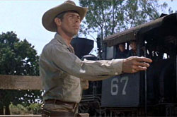 James Coburn in Magnificent Seven