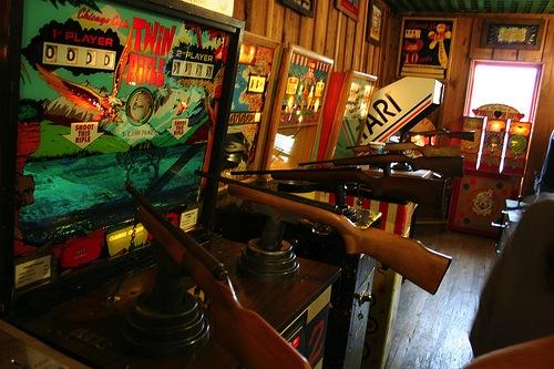 arcade shooting games
