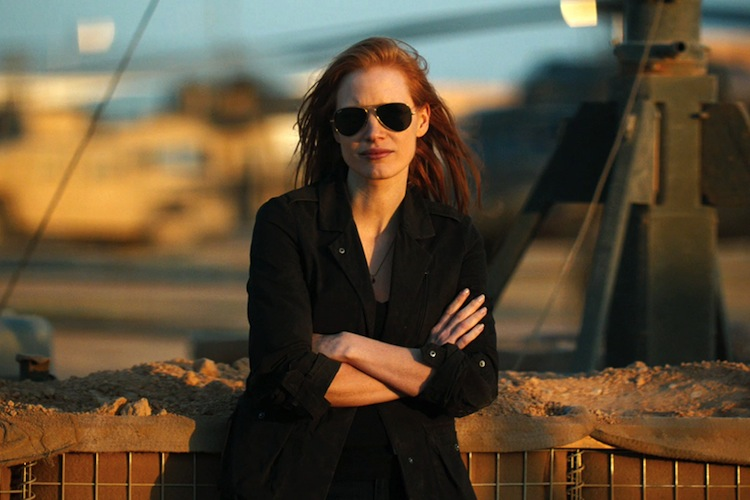 jessica chastain zdt folded arms