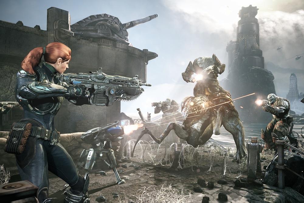 women in combat video games
