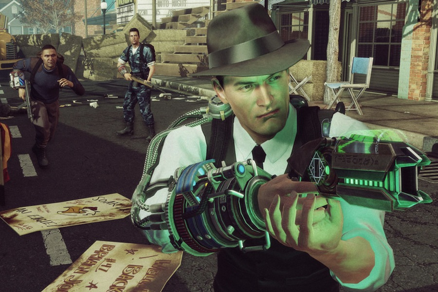 Game review 39 the bureau xcom declassified 39 for Bureau xcom declassified weapons
