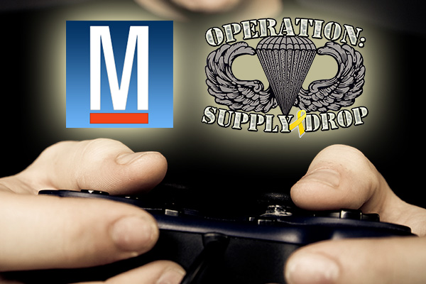 Operation Supply Drop and Military.com for the 8-Bit Salute.