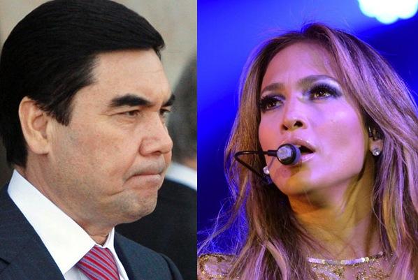 jennifer lopez turkmenistan