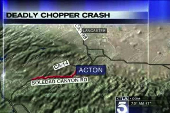 discovery chopper crash