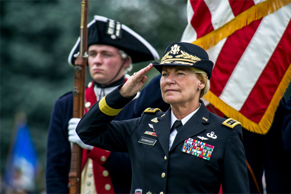female Army retiree