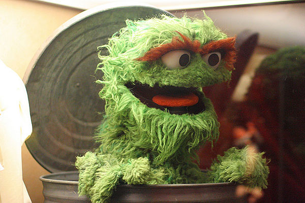 Va Oscar The Grouch VA's 'Oscar the Grouch...