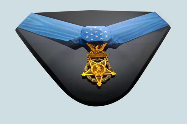 Medal of Honor on display