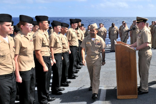 Navy Petty Officer Advancement Results Military Com