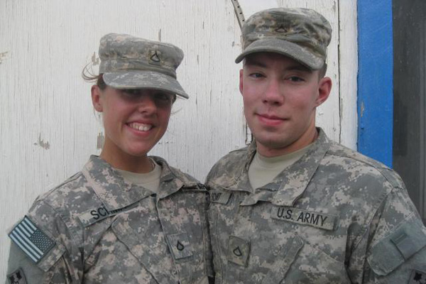 Army dual deployed couple.