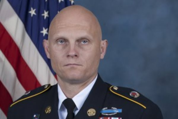 Master Sgt. Joshua L. Wheeler, 39, of Headquarters, U.S. Army Special Operations Command, Fort Bragg, N.C., was killed in action Oct. 22, while deployed in support of Operation Inherent Resolve. (US Army photo)