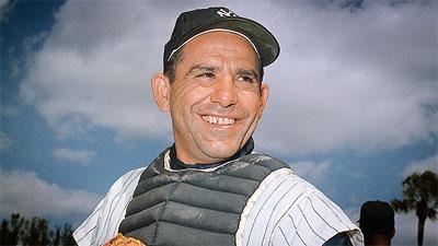 Yogi Berra with the Yankees