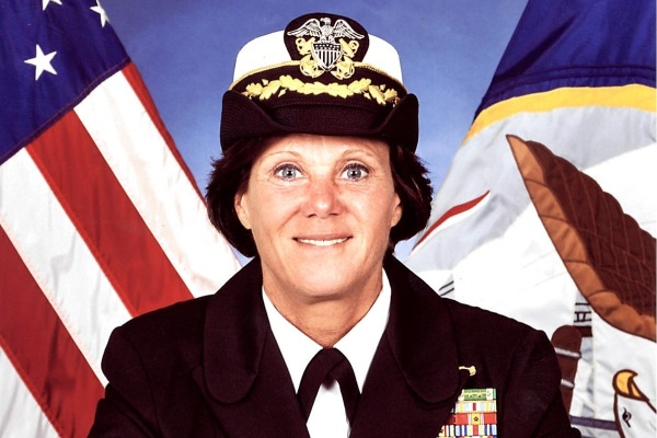 """Cmdr. Regina Cox, commanding officer of Naval Computer and Telecommunications Station at Naval Air Station Sigonella in Sicily, was fired this week for """"improper civilian hiring practices."""" (US Navy photo)"""