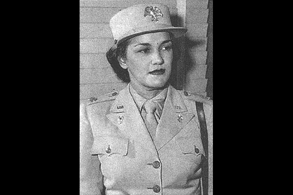 Lt. Col. Harriet West Waddy (U.S. Army photo)